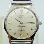 นาฬิกาเก่า WITTNAUER BY LONGINES ออโตเมติก สองเข็มครึ่ง
