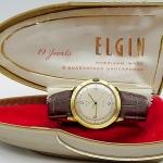 นาฬิกาเก่า ELGIN ไขลาน พร้อมกล่อง