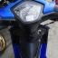 #ดาวน์3000 WAVE110i ปี58 สตาร์ทมือ เครื่องเดิมดี สีน้ำเงินสวยใส ราคา 30,000 thumbnail 17