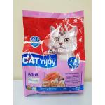 Cat'n Joy รสกุ้งและแซลมอน Exp.05/19 สำหรับแมวโต 1.2 kg.