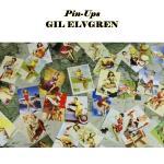 โปสการ์ดภาพ Gil Elvgren's Pin-Ups 30ใบ/เซ็ท
