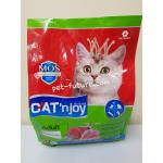 Cat'n Joy รสปลาทูน่าไก่และกุ้ง Exp.04/19 สำหรับแมวโต 1.2 kg.