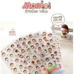 (6 แผ่น/ชุด) สติ๊กเกอร์ Momoi Sticker Set ver.2