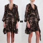 Zimmermann Winsome Ruffle Set Dress