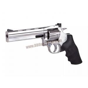 ปืนลูกโม่ 6 นิ้ว Dan Wesson 715 สีเงิน อัดแก๊ส Co2 - ASG
