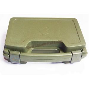 กล่องไฟเบอร์ปืนสั้น ลายหมา สีเขียว