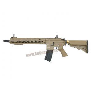 E&C 106S : HK 416 D Geissele 14.5 สีทราย บอดี้เหล็ก JR.Custom Gen 3