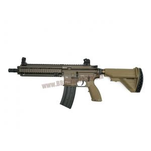 E&C 102S : HK 416 D สี Dark Earth บอดี้เหล็ก JR.Custom Gen 3