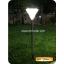 ไฟปักสนามโซล่าเซลล์ 24 LED (สแตนเลส) (เเสง : ขาว) thumbnail 6