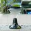 โคมไฟหัวเสาโซล่าเซลล์ ทรงกรวย ฐานดำ 39 LED (เเสง : ขาว) thumbnail 1