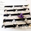 ผ้าพันคอ ชีฟอง สกรีนลาย Chiffon CF01-015