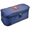 กระเป๋าเก็บชุดชั้นในมีหูหิ้ว สีน้ำเงิน