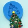 โมล พิมพ์ซิลิโคน รูปต้นคริสต์มาส (พิมพ์ 2 มิติ)