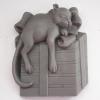 พิมพ์ซิลิโคน รูปแมว (น้ำหนักสบู่ : 100 ± 5G)