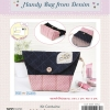 Handy Bag from Denim (Pink)