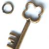 ABS หัวซิป กุญแจหัวดอกไม้