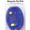 แท่มแม่เหล็กเก็บเข็มหมุด Magnetic Dish: With Pins