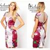 ASOS-Women's boutique printing flower dress เดรสสไตล์ boutique