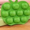 พิมพ์ซิลิโคน พิมพ์วุ้น ช็อคโกแลต รูปแอปเปิ้ล 10 ช่อง