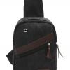 พร้อมส่ง!!! fashion กระเป๋าสะพายไหล่ รุ่น AA001 ( สีดำ )