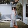 Star glittered maxi dress