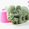 โมล (Mold) พิมพ์ซิลิโคน พิมพ์สบู่ รูปช้าง