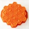 พิมพ์ซิลิโคน รูปรังผึ้ง (ใหญ่) 30*29*5.5cm.