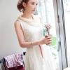 Vivid Charm Pure Lace mini dress มินิเดรสสีขาวสะดุดตา เรียบหรู คลาสสิค หวาน อ่อนโยน แต่แฝงไว้ด้วยความซุกซนช่างเล่น