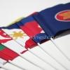 ธงโบกกลุ่มประเทศอาเซียน : แบบกระดาษ