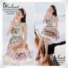 Lady Olivia Sweet Fantasy Print Sleeveless Dress