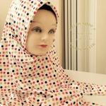 ผ้า คลุม อิสลาม เนื้อ ซาติน HJ1154