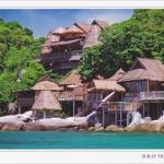 โปสการ์ด เกาะเต่า จังหวัดสุราษฎร์ธานี /ทะเล/ชายหาด