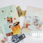 โปสการ์ดชุด Stamp in Postcard - 30ใบ/เซ็ท