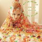 ผ้า คลุม อิสลาม เนื้อ ชีฟอง HJ1151