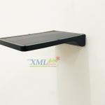 โคมไฟผนังโซล่าเซลล์ 36 SMD LED + Motion (โคมแบนดำ) ตัวเล็ก (แสง: เหลืองวอมไวท์)