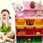 ส่งฟรี !! ชั้นวางของ ที่เก็บของเล่นเด็ก สตรอเบอร์รี่ชมพูหวาน (Strawberry Keeping Toy)