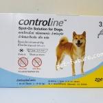 Controline 10.1-20 kg.กำจัดและป้องกัน เห็บ หมัด Exp.12/18
