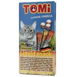 ขนมแมวเลียโทมิ (Tomi Liquid Cat Snack) รสแซลมอน