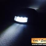 ไฟหมุดถนนโซล่าเซลล์ 6 LED (เเสง : ขาว)