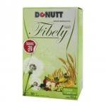 Donut Fibely โดนัทไฟบีลี่ดีท็อก ดีท็อกชงดื่มรสน้ำผึ้งมะนาว ช่วยกระตุ้นการขับถ่าย