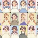 โปสการ์ด Kawaii Dolls vers.1 (18 ใบ/เซ็ท)