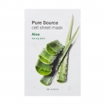 ** 1 แถม 1 ** Missha Pure Source Cell Sheet Mask 21g #Aloe