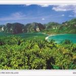 XXXโปสการ์ด อ่าวต้นไทร เกาะพีพีดอน จังหวัดกระบี่ /ทะเล/ชายหาด/อุทยานแห่งชาติ