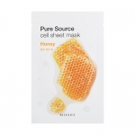 ** 1 แถม 1 ** Missha Pure Source Cell Sheet Mask 21g #Honey
