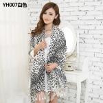 ผ้าพันคอ Pashmina พาสมีน่า ลายเสือดาว PM00103-2