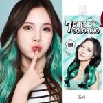 Missha 7 Days Coloring Hair Treatment 25 ml. #Aqua Mint