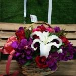 กระเช้าดอกไม้ 04