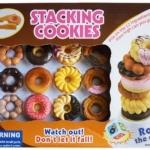 เกมส์หอคอยโดนัท Stacking cookies แข่งเรียงวางช้อนกันสูงเป็นหอคอย