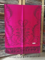 ผ้าพันคอ Pashmina พาสมีน่า ลาย ไทย PS02023T