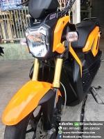 #ดาวน์4500 ZOOMER-X ปี57 สีส้มสวยใส เครื่องเดิมดี ระบบหัวฉีด ขับขี่เยี่ยม ราคา 28,500